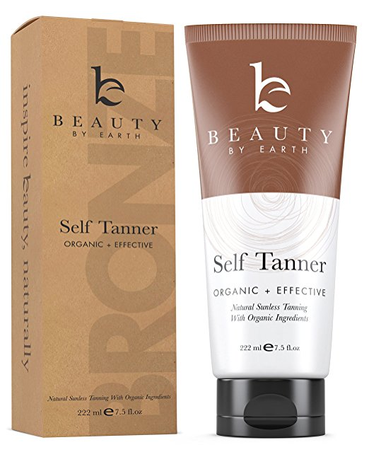 best self tanner beauty by earth sunless tanning