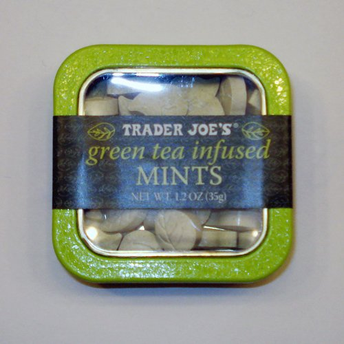 trader joe's green tea infused mints