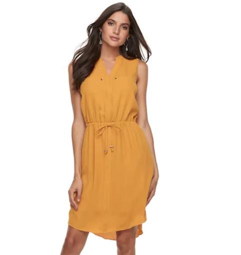 kohls spring dress