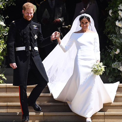 cd498e5843 6 Wedding Dresses That Look JUST LIKE Meghan Markle s Gown - SHEfinds