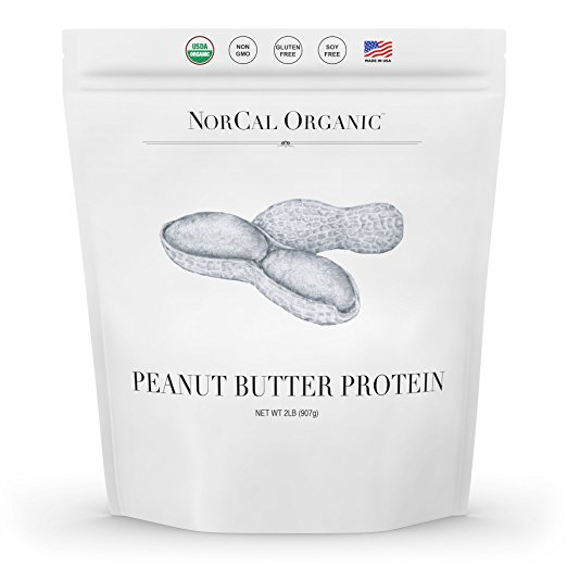 norcal organic peanut butter protein
