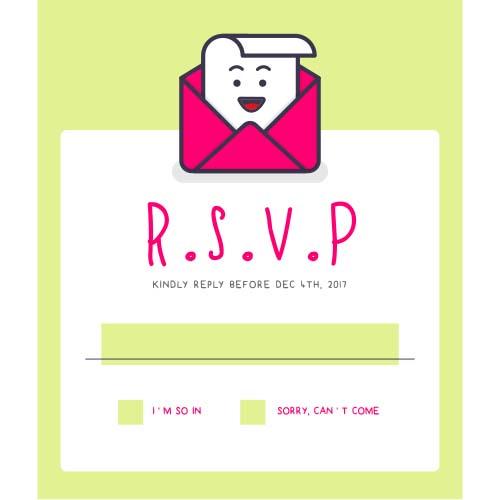 RSVP website