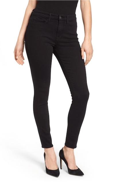 good american black jeans