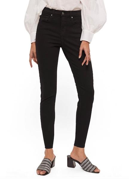 topshop petite black jeans
