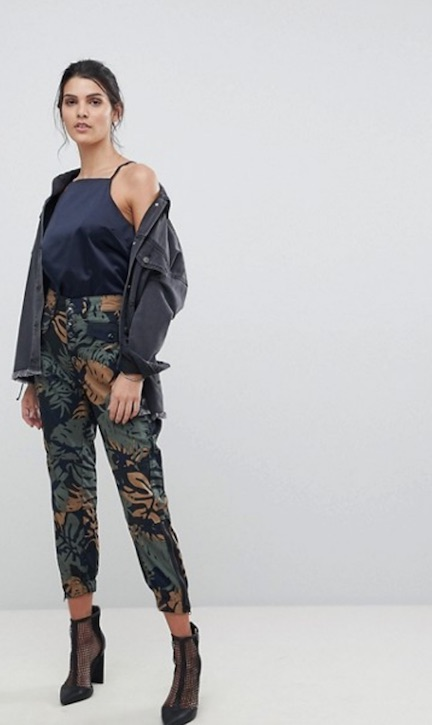 asos printed cargo pants