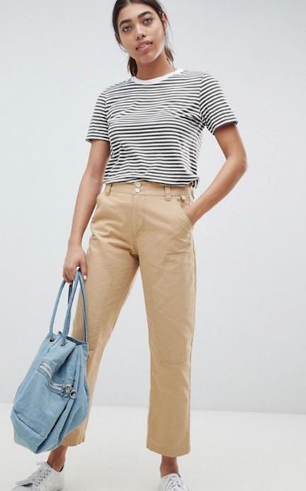 khakis womens cargo pants