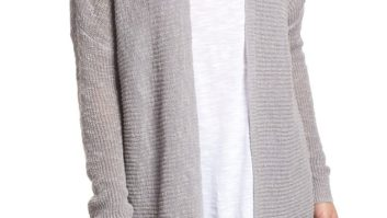This Is The Perfect Summer Weight Cardigan... And It's On Sale For 40% Off Right Now