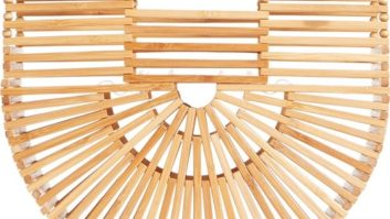 What Are These Sculptural Bamboo Bags We're Seeing Everywhere? Cult Gaia, Baby.