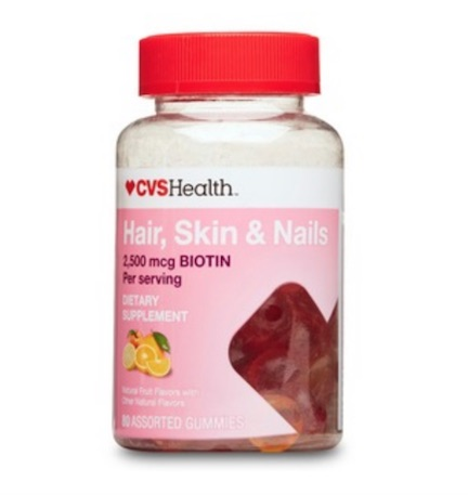 cvs hair skin and nails gummies
