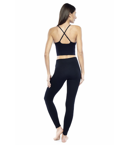 electric yoga leggings
