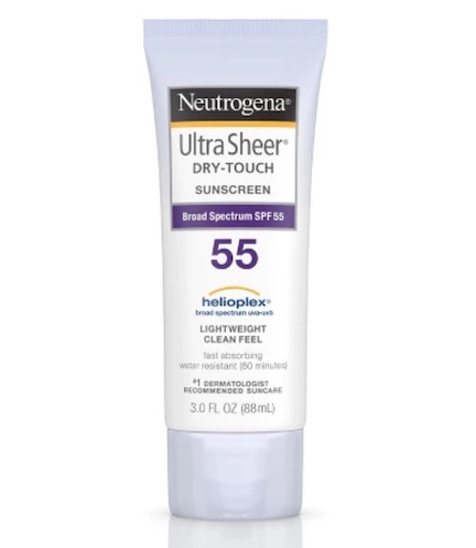 neutrogena sheer touch sunscreen