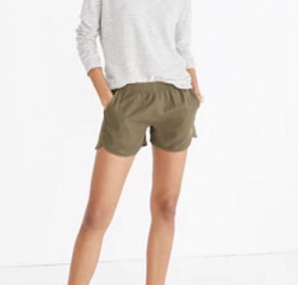 madewell summer shorts