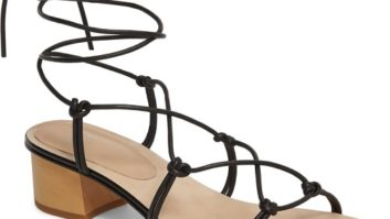 Ankle Wrap Sandals Are A Look We're Really Loving For Summer