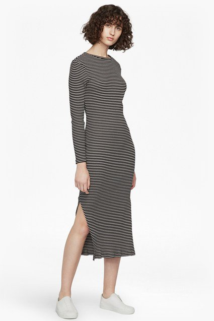 french connnection tim tim striped dress