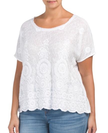 tj maxx white shirt
