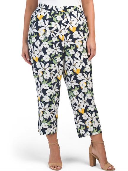 tj maxx printed pants