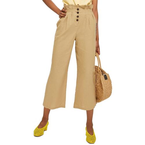 topshop button pants