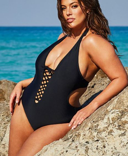 4f4a74adff69 Ashley Graham X Swimsuits For All Boss Underwire Swimsuit ($62.40, down  from $96)