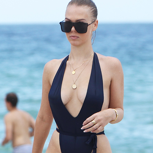 We Did Not Expect To See THIS On Bathing Suits—But Now It's A Huge Trend