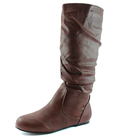star wars rey halloween costume dailyshoes mid calf slouch suede boots