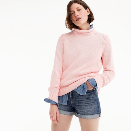 j. crew 1988 rollneck sweater
