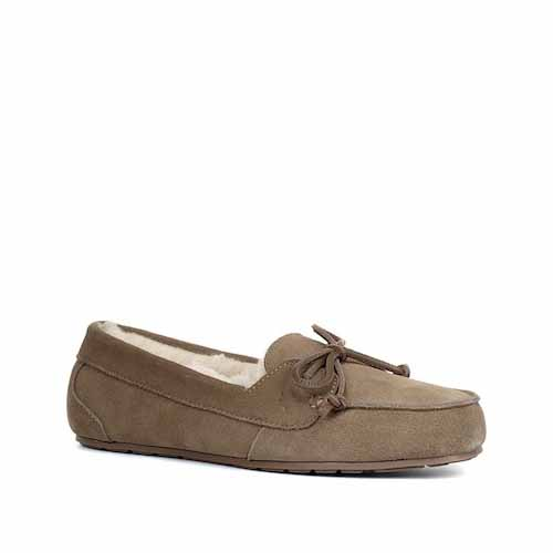e910092fbb6 Koolaburra by UGG Margo Genuine Sheepskin   Faux Fur Moccasin ( 49.97