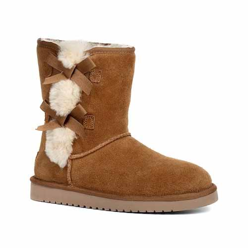 43394b38986 Koolaburra by UGG Victoria Short Genuine Sheepskin   Faux Fur Boot ( 79.97