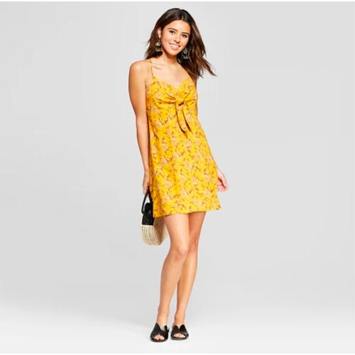 31d4ddac524 The Most Flattering Dress Is Under  30 At Target–Hurry