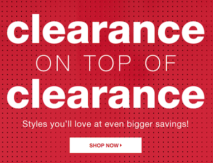 08acd55f5ccef The T.J.Maxx Clearance On Top Of Clearance event is happening now and for a  limited time only