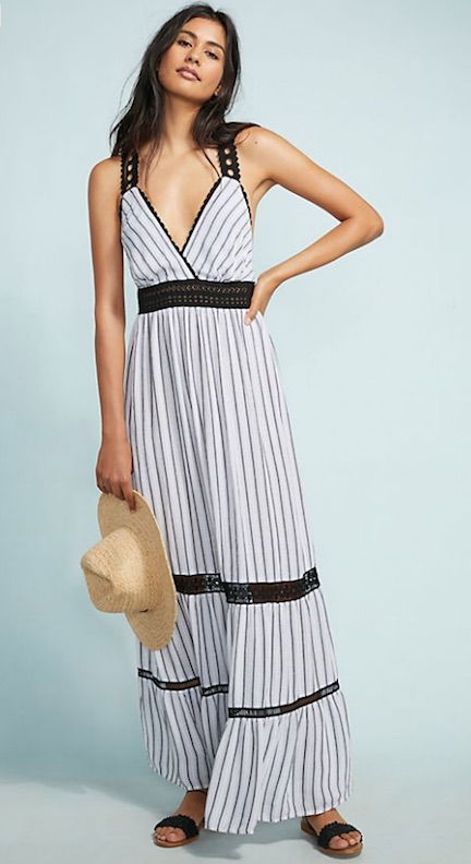 cf85dbe1c2dc7 This Super Flattering Dress Is *Finally* On Sale At Anthropologie ...
