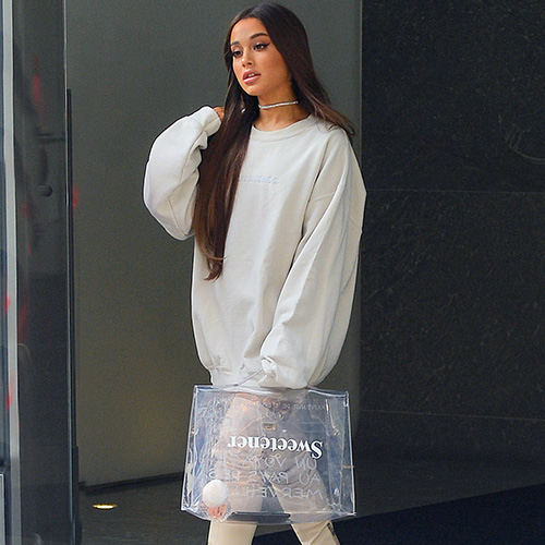 Ariana Grande Halloween Costume 2019.This Diy Ariana Grande Sweetener Halloween Costume Is So