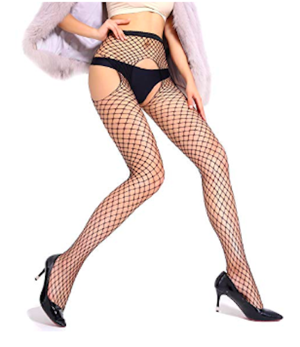 bkvava fishnet stockings