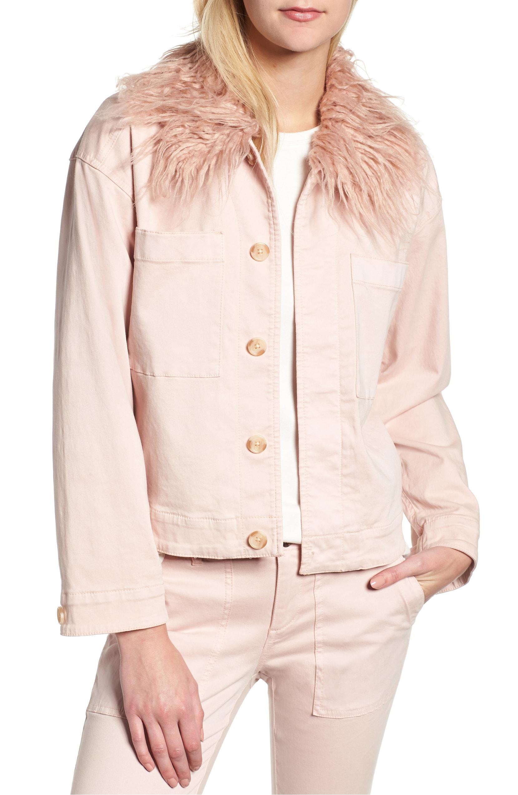 lou & grey frosé utility jacket