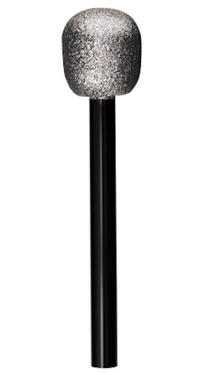 beistle glitter microphone
