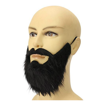 a-cool beard disguise