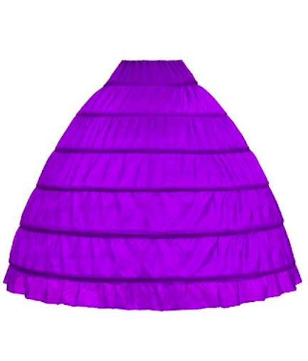 wowbridal hoop skirt