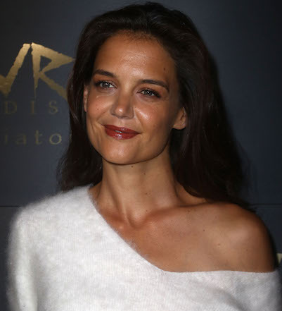 a64ffc8ef69e2 Katie Holmes Is Serious  GOALS In This Red Hot Dress - SHEfinds