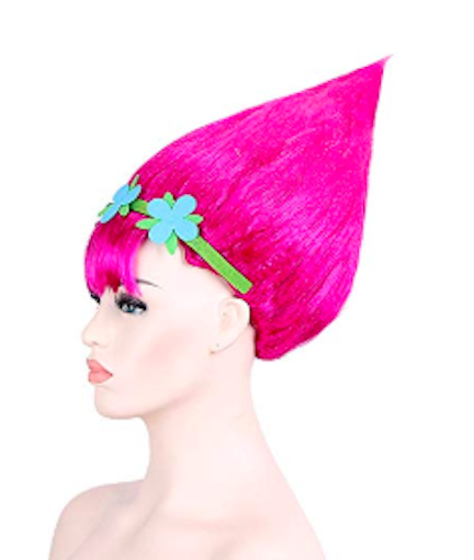 line-s cosplay pink trolls wig