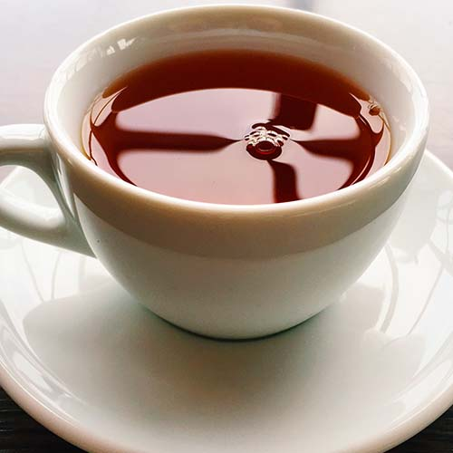 black tea trims fat
