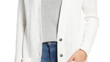 This Is The Perfect Cardigan To Carry Around On Fall Days That Are Both Hot *And* Cold