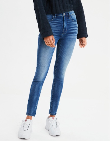 kendall jenner american eagle jeans