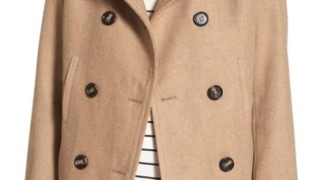 It's Back! Nordstrom Just Re-Stocked Their Bestselling Peacoat And It's Only $37