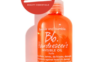 Don't Leave Home On Humid Days Without Bumble & Bumble's Invisible Oil