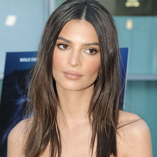 Emily Ratajkowski's Silky Red Dress Leaves Little To The Imagination--It's SO Sexy!