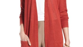 Still Not Ready For Jackets And Coats? Rock This Cute Maxi Cardigan Instead