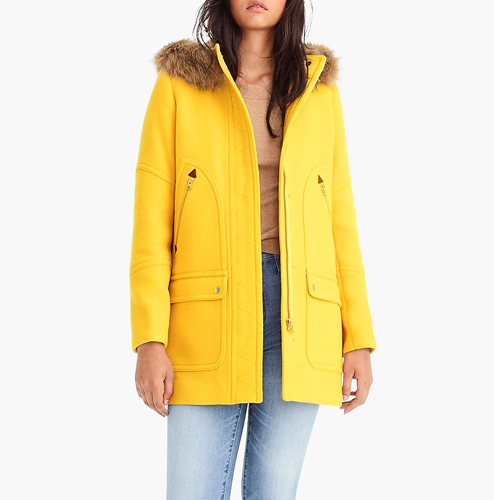 20c42edf8ee This Super Flattering Coat Is Selling Out At J.Crew s Pre-Black ...