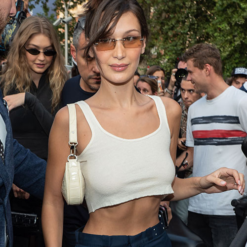 Bella Hadid Is Getting Hate For Posting This Super Sexy Lingerie