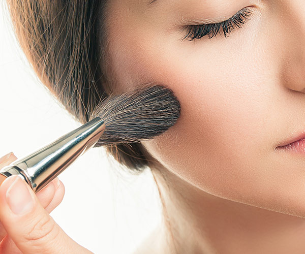 how to use blush to look 10 years younger