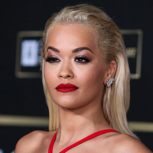 We Can't Get Over How HOT Rita Ora Looked In This Low-Cut Black Mini Dress