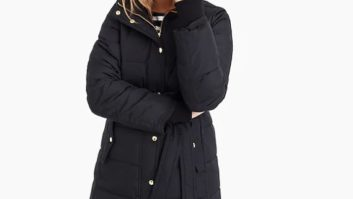 The One Coat You NEED To Buy From J.Crew While It's On Sale For 50% Off--Hurry It's Selling Out Fast!